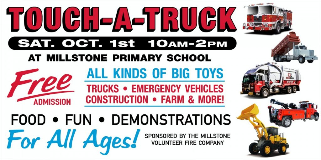 Millstone Township Fire Company Presents Touch-A-Truck